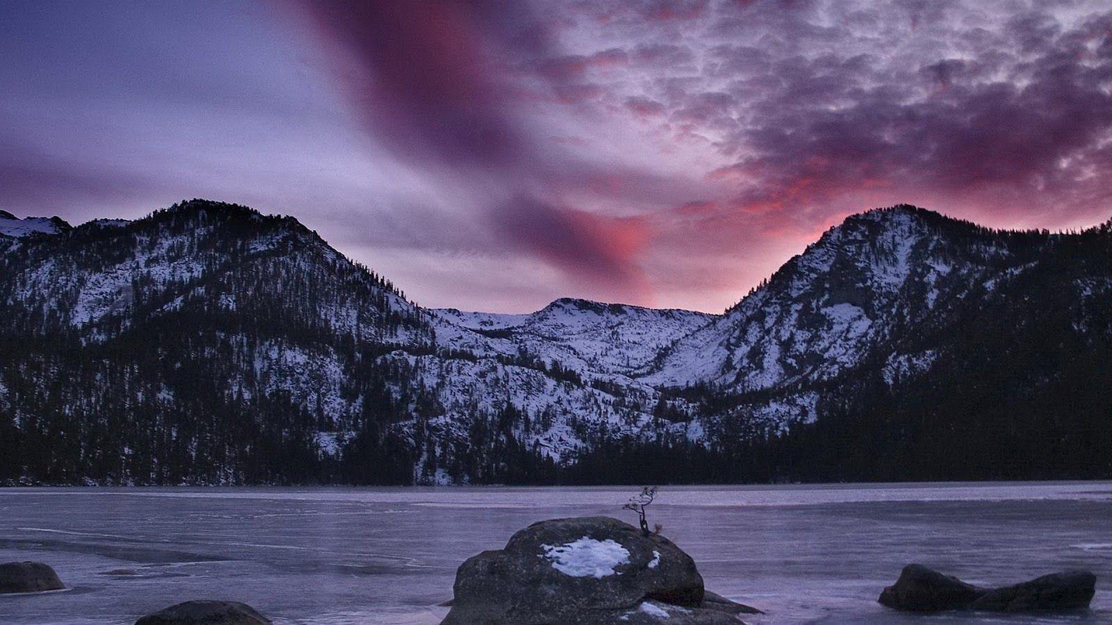 1600x900 Sweetcouple Nature Hd Wallpapers Ice Snow Mountain Lake Sierra Nevada Nevada California Sierra Nevada Mountains Hd wallpaper lake ice mountains valley
