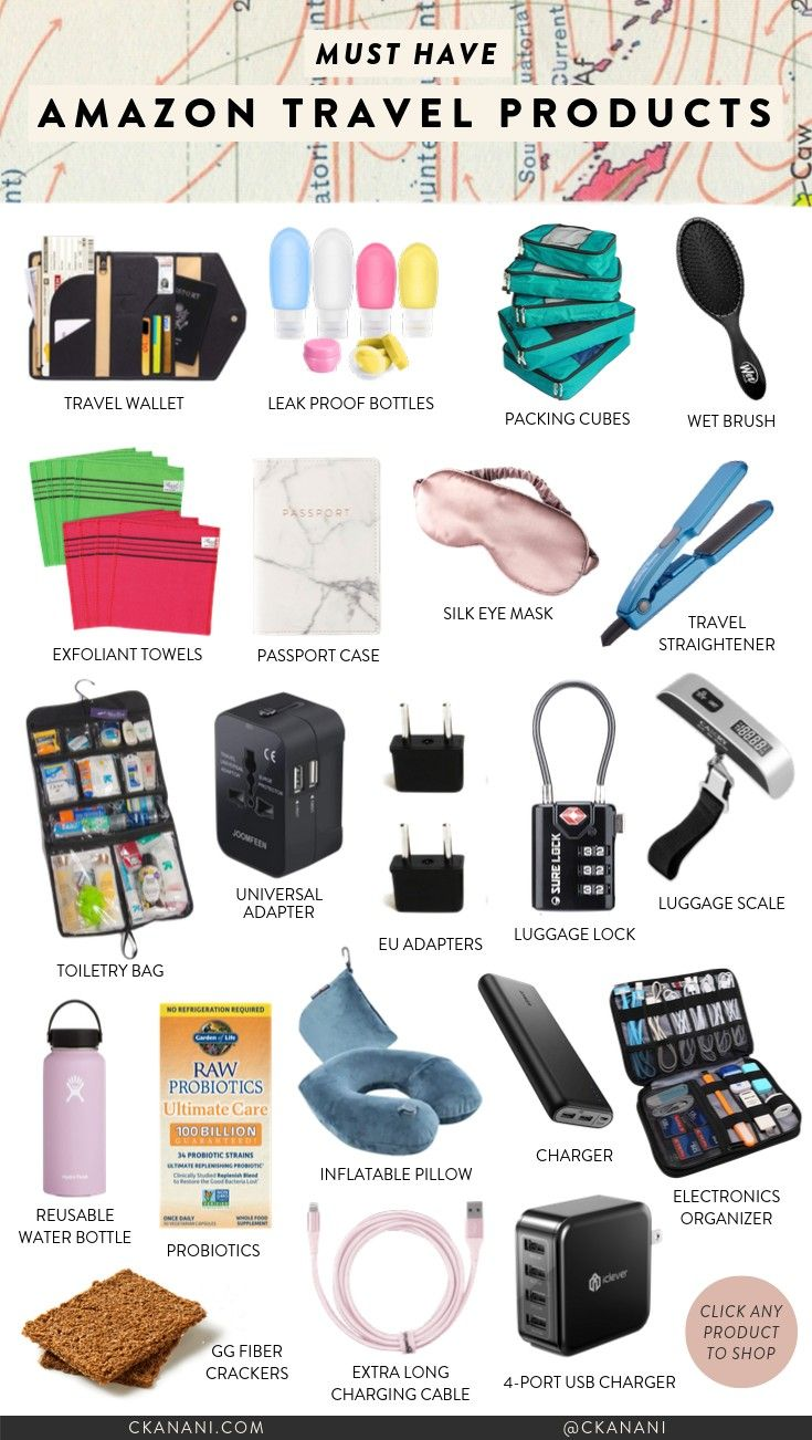 20 Must Have Travel Products from Amazon — ckanani luxury travel & adventure
