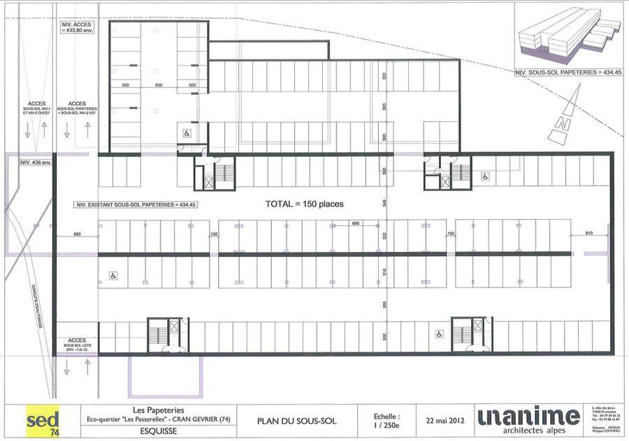 Plan du stationnement des papeteries agrandir l 39 image for Agrandir fenetre sous sol