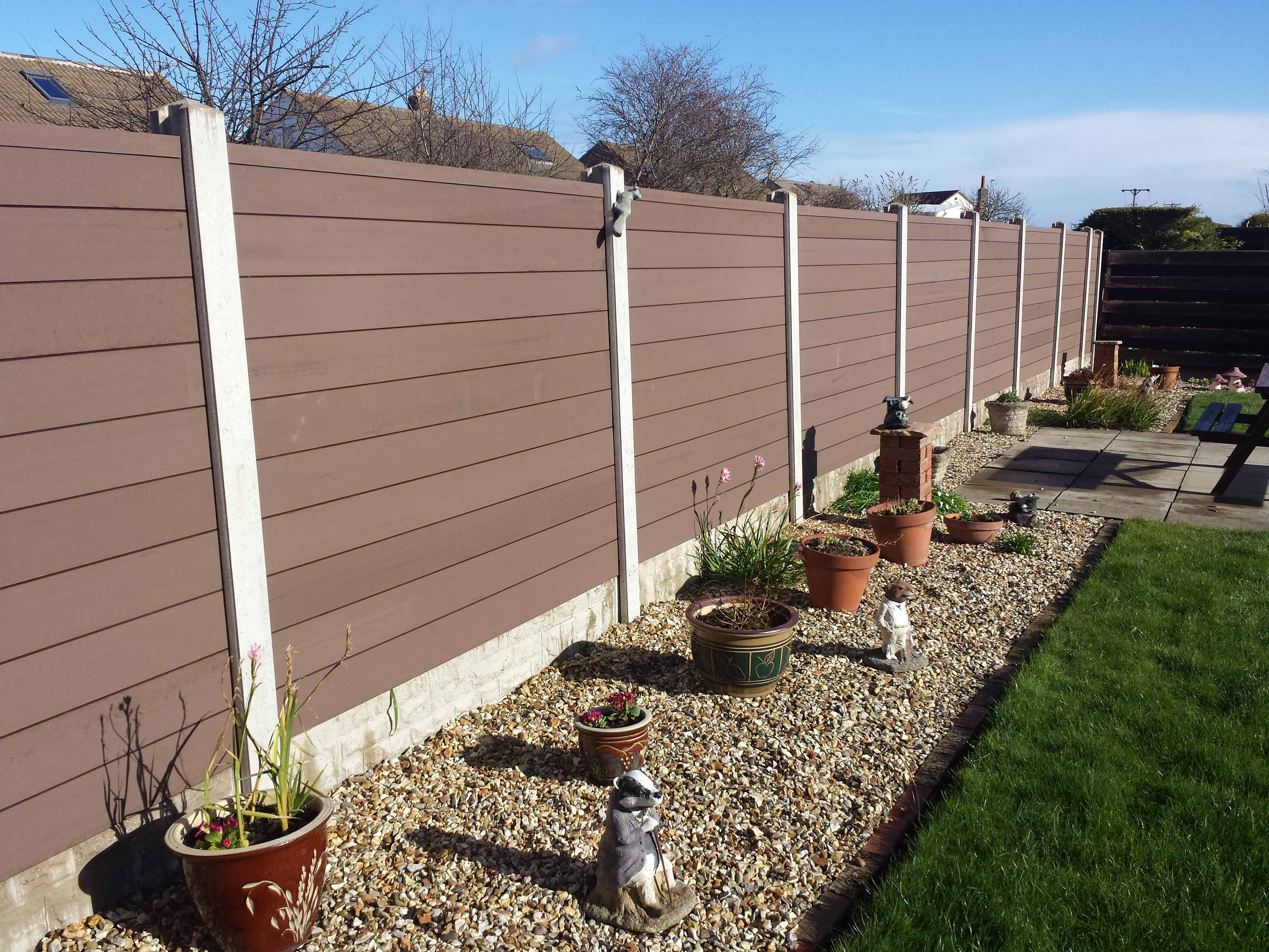 Composite decking fence7ft high wood fence panelsinstalling wood composite decking fence7ft high wood fence panelsinstalling woodfence on existing baanklon Gallery