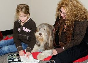 Going to the dogs has special meaning,thanks to Reading with Rover ...