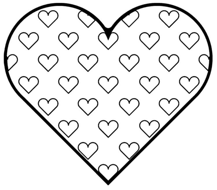 Big Love Valentine Coloring Pages Heart Coloring Pages Printable Valentines Coloring Pages Valentine Coloring