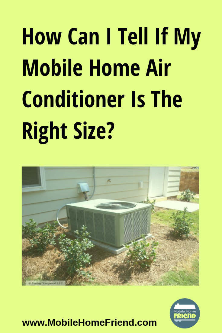 How Can I Tell If My Mobile Home Air Conditioner Is The