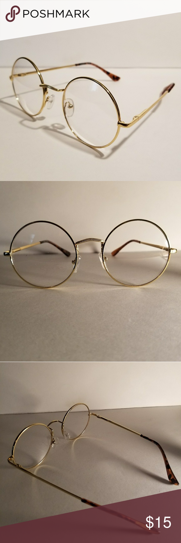 Gold Retro Round Glasses | Cartier, Round glass and Rounding