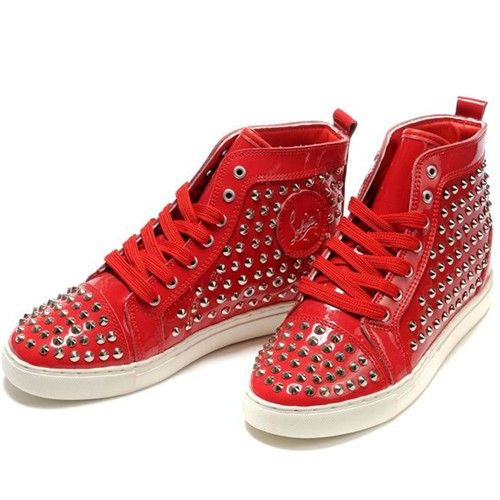 France Christian Louboutin Clout eacutes Sneaker Louis Rouge