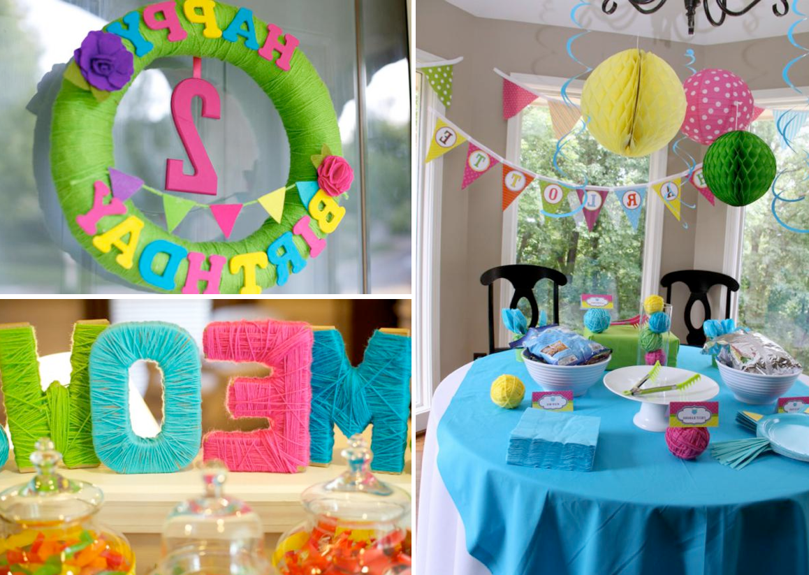 Photo Birthday Party Decoration Ideas At Home Images Backgrounds