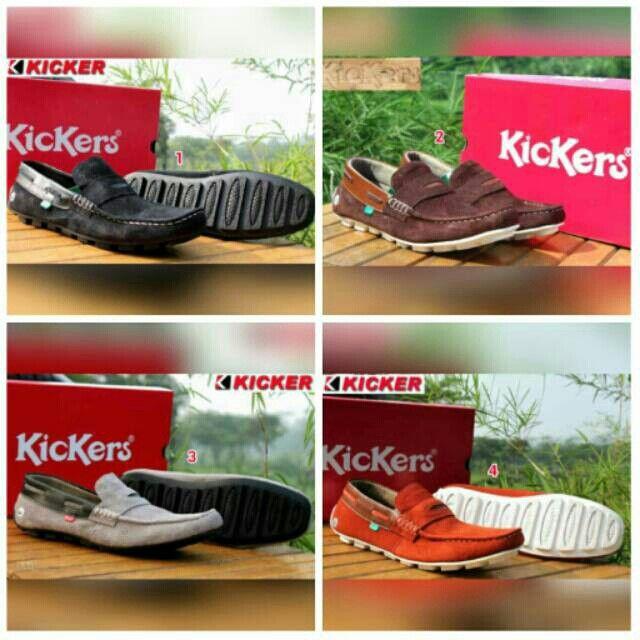 Saya Menjual Sepatu Kickers Casual Pria Santai Slop Murah Slip On