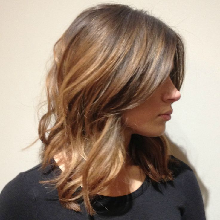 I Want To Wear My Hair Like This At My Wedding Blowout Hair Medium Blowout Hair Medium Length Hair Styles