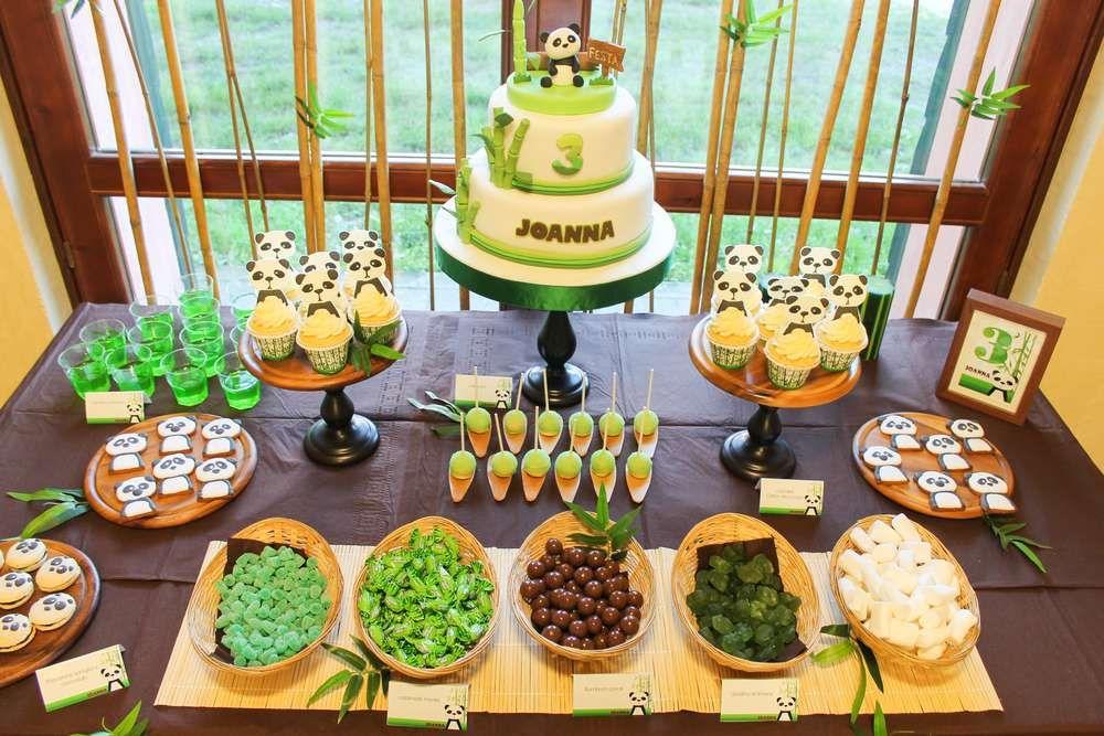 Pandas Birthday Party Ideas | Panda birthday party, Panda birthday ...