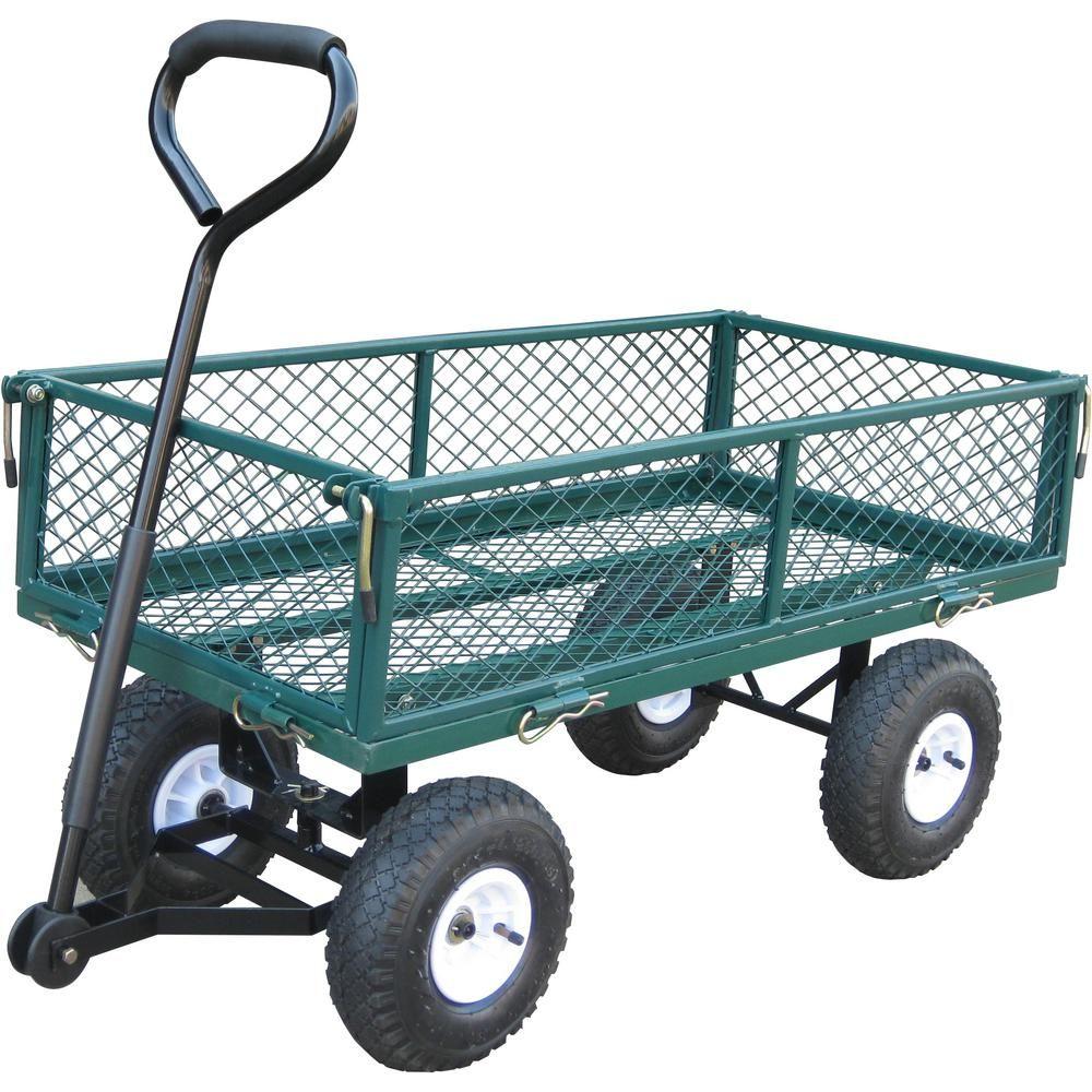 Bond 37 5 In X 20 In X 20 19 In 330 Lbs Capacity Garden Cart