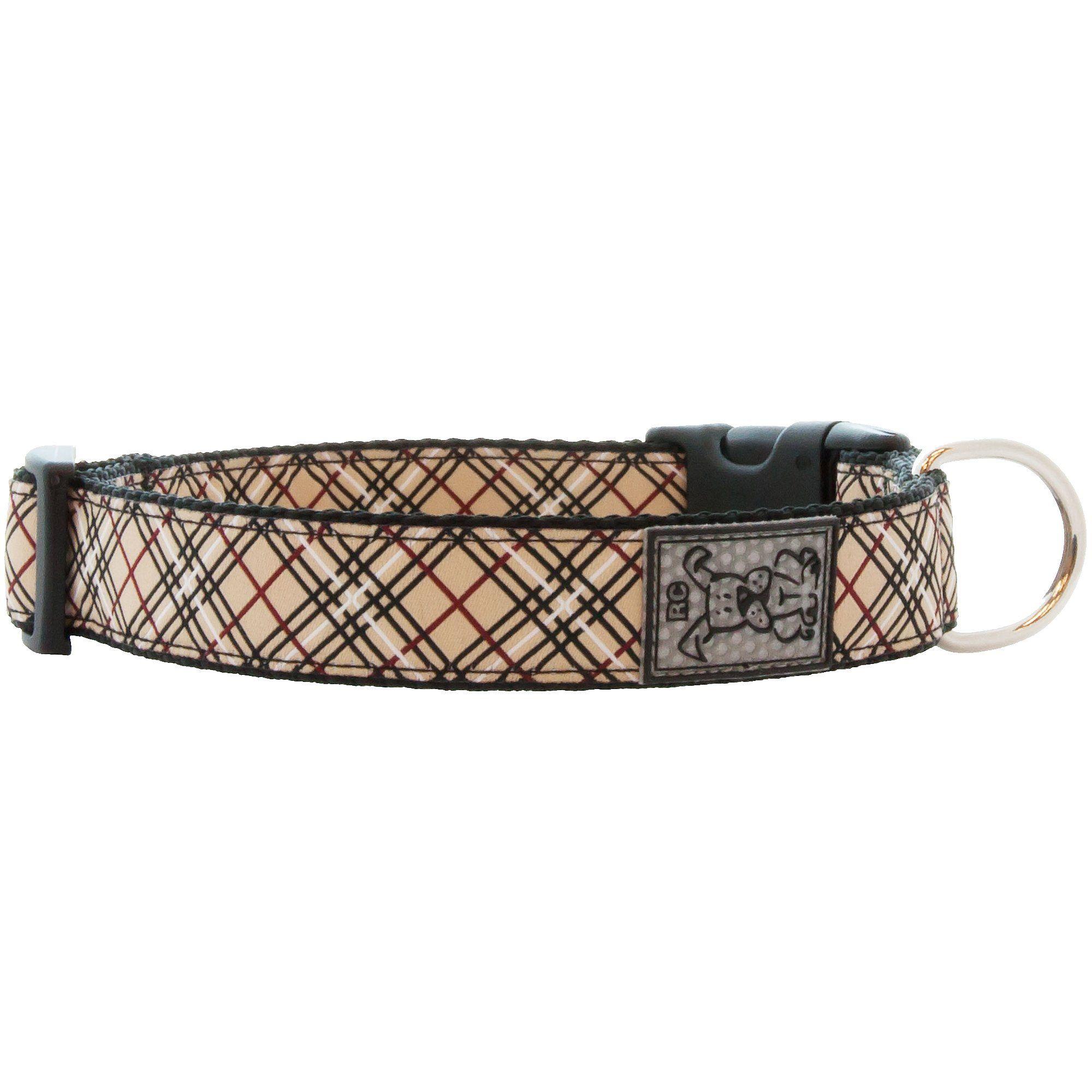 Rc Pet Products Tan Tartan Dog Collar 12 20 Medium Tan