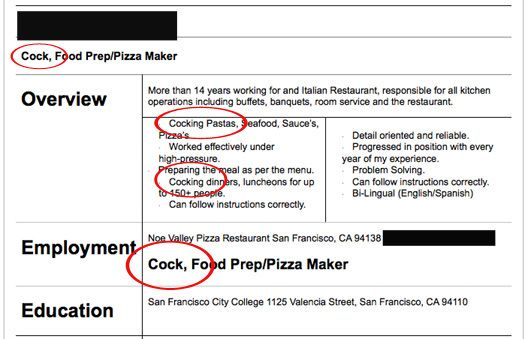 Ridiculous Resumes Just for fun Pinterest - funny resume