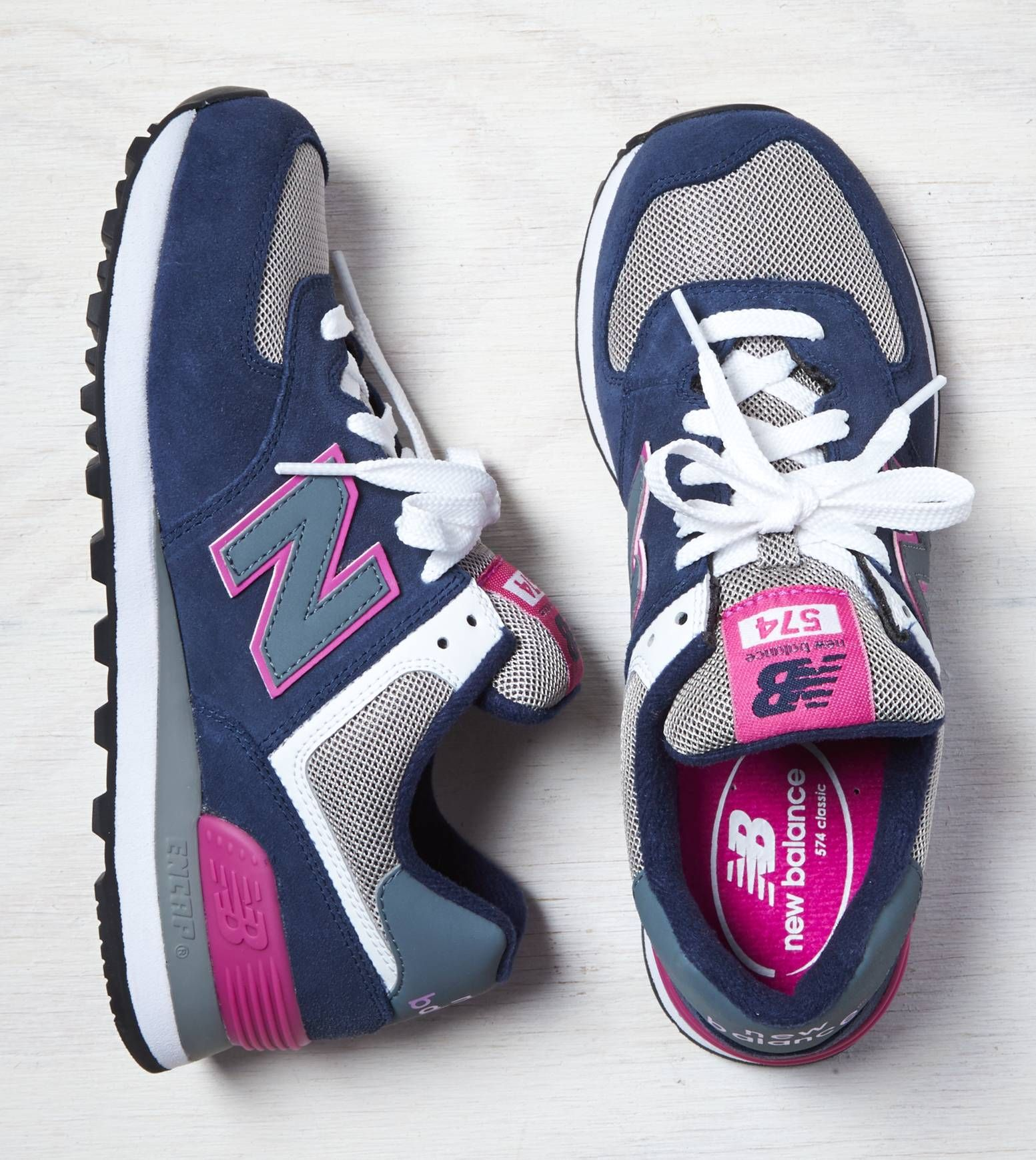 Navy New Balance 574 Sneaker Trending Shoes Sneakers New Balance Shoes