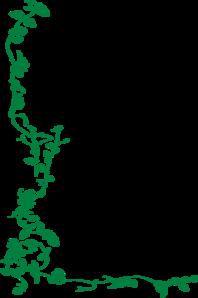 Green Vine Border Clip Art Clip Art Borders Clip Art Vine Border