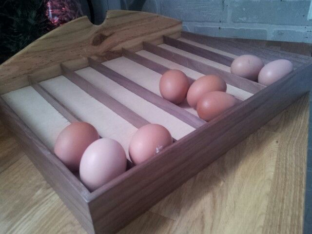 Counter Top Day Of The Week Egg Holder I Made Raising Chickens