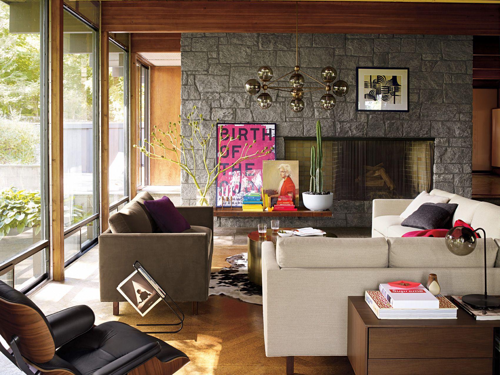 Goodland Sofa Collection Designed by Milo Baughman