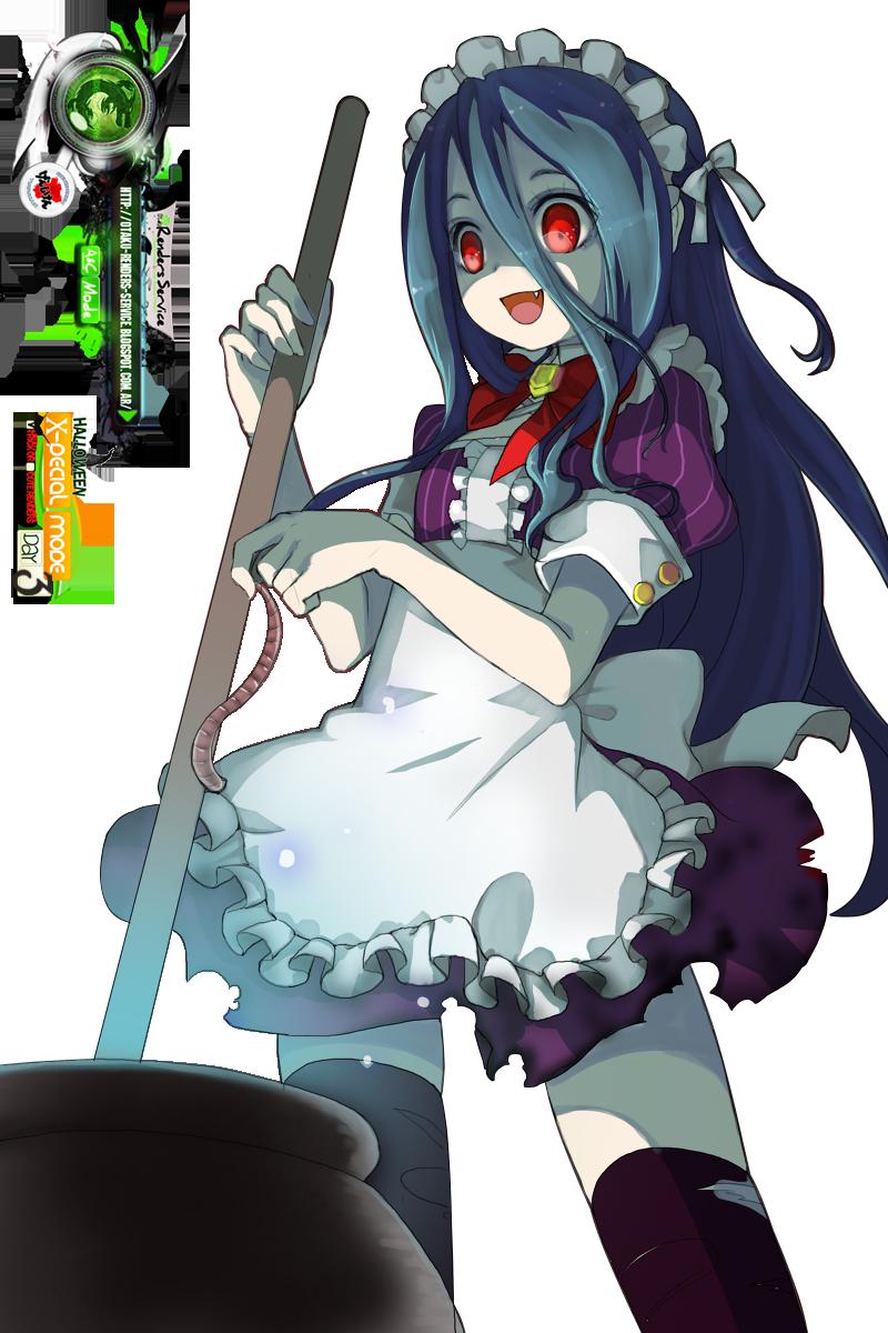Yandere Girl Haloween Yandere Maid PNG Yandere, Anime
