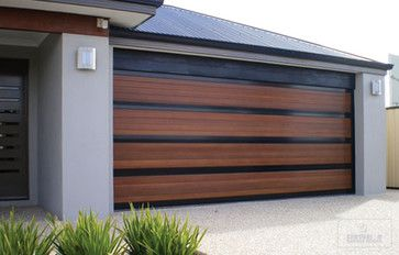 Garage Doors Installations Contemporary Garage And Shed San