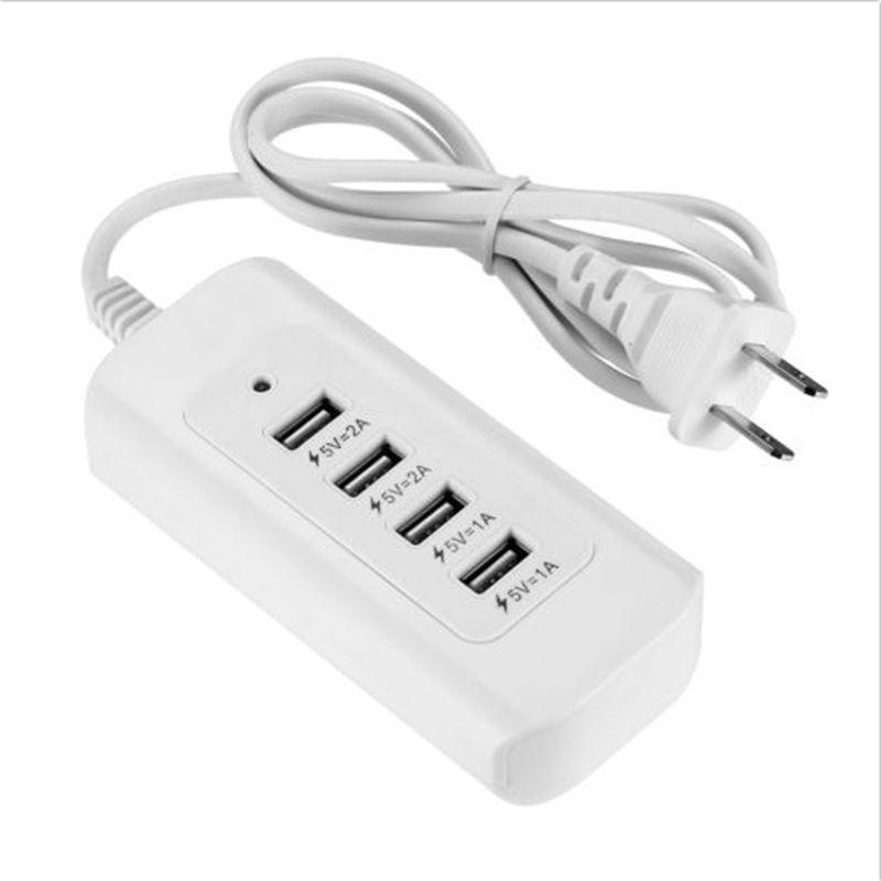 Us Plug 4 Usb Charging Ports 5a Ac Power Wall Sockets