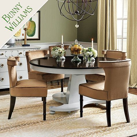 Bunny Williams Manor House Dining Table Classic Home Pinterest