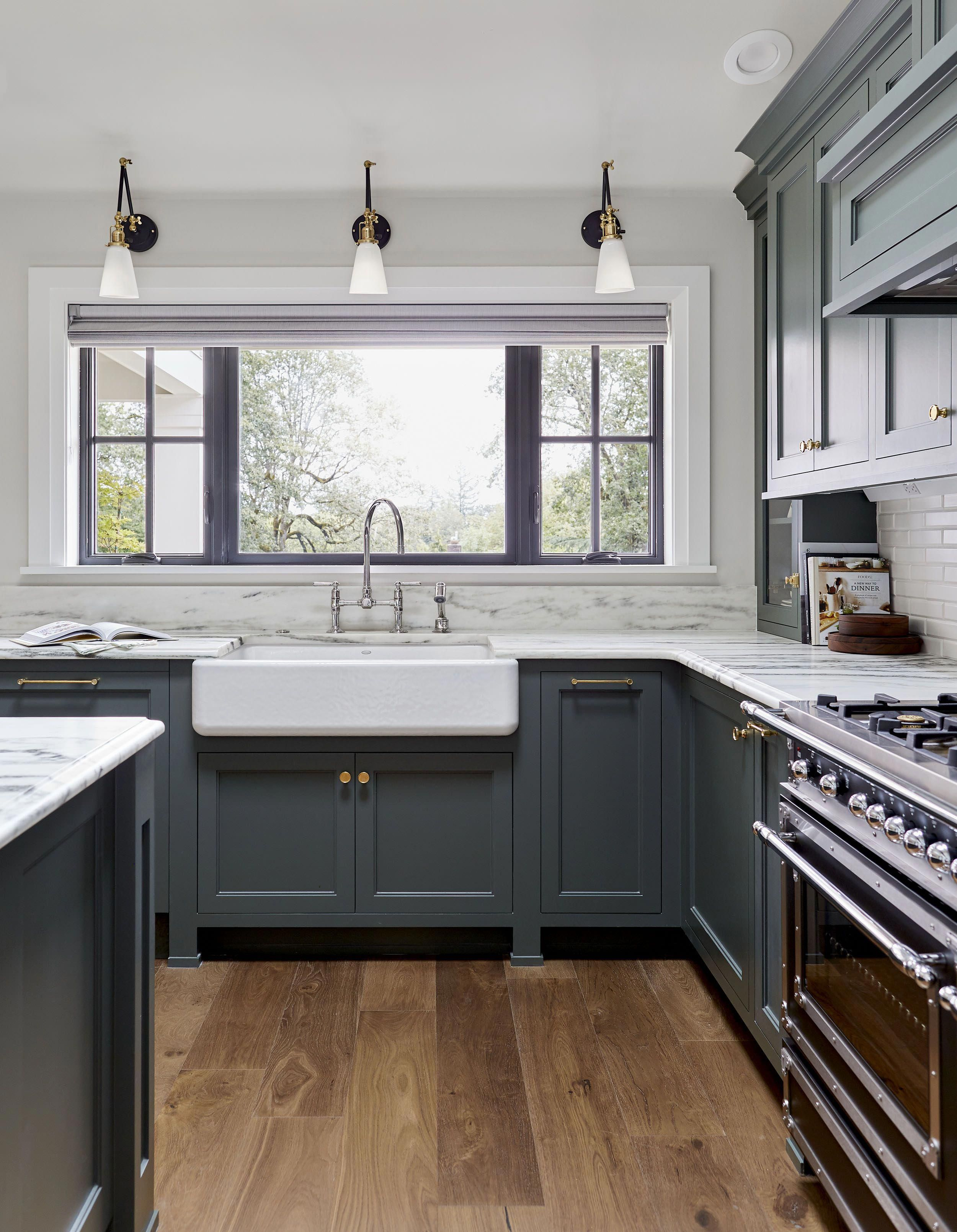 Emily Henderson Portland Kitchen Remodel Love The Cabinets Love The Big Window Above The Kitchen New Kitchen Cabinets Shaker Kitchen Cabinets Kitchen Remodel