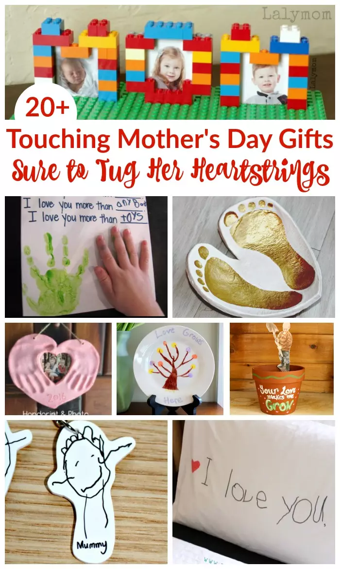 20+ Touching Mother's Day Gift Ideas Sure to Tug at Her Heartstrings - LalyMom -   19 holiday DIY mother's day ideas