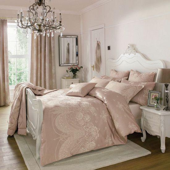 Dorma Pink Lucille Bedlinen Collection | Dunelm