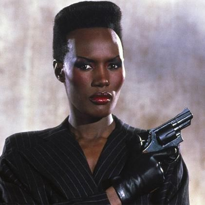 Grace Jones as May Day in A View To A Kill  #Bochic #jewelry inspiration  http://bochic.com/content/