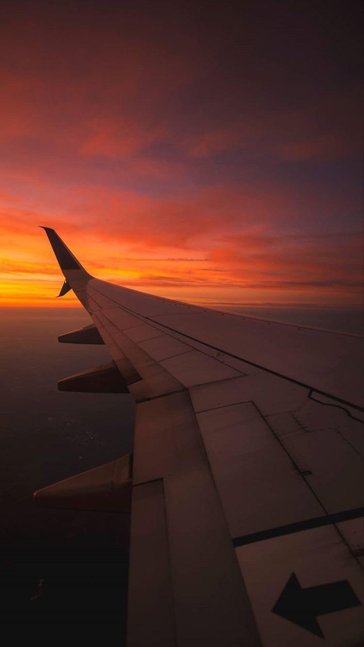 aesthetic airplane window tumblr