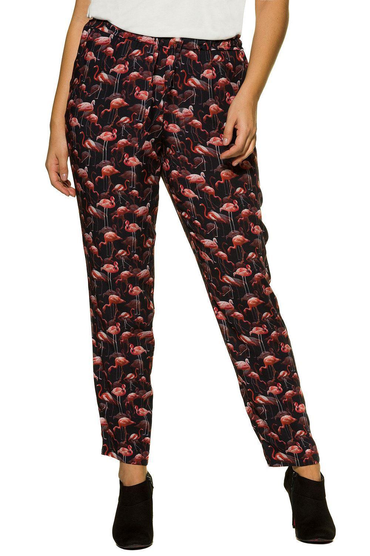 d282a83a Studio Untold Graphic Flamingo Print Pants |