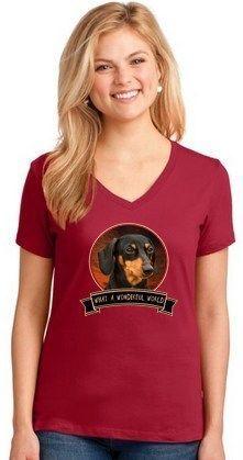 Dachshund Wonderful World Shirt