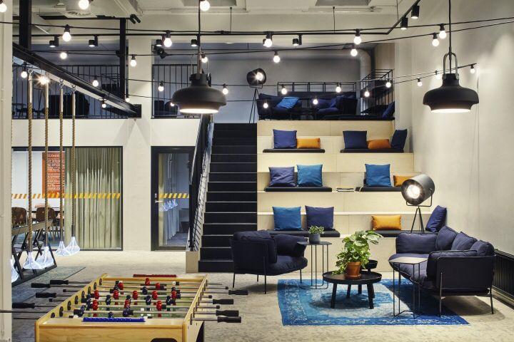 Zalando office by Fyra, Helsinki – Finland | Office | Pinterest