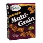 Milton's Original Gourmet Snack Crackers Multi-Grain (12x9 Oz)