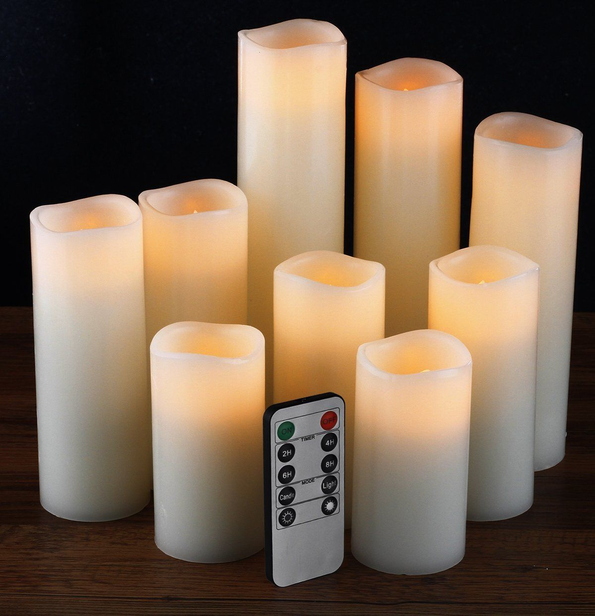 Amazon flameless candles battery candles seth