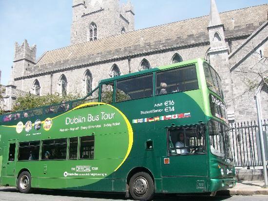 Dublin Bus Tour   Green Bus   Hop On Hop Off  Thursday Activitiy 4/5 U0026  Friday Activity 2/6