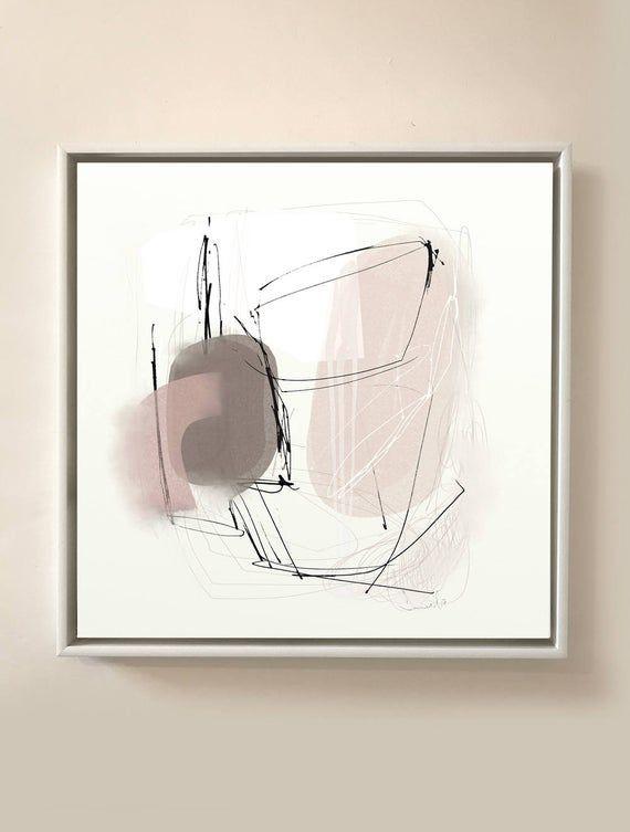 Abstrakte Kunst, druckbare abstrakte Kunst, große Wandkunst, quadratischen Druck, große abstrakte Kunst, minimal Print, Wohnzimmer Kunst, Instant Download Kunst