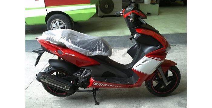 Italjet Indonesia Siapkan Motor Matic Baru Bergaya Ducati Motor