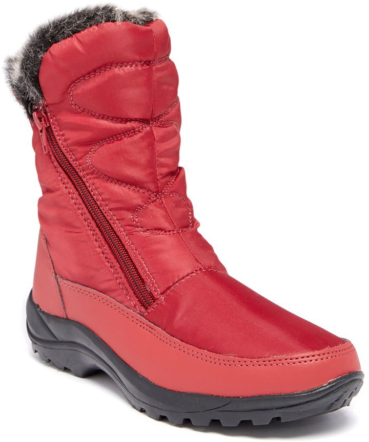 Burgundy Amarylis Boot Price was $100  Now just  $29.99