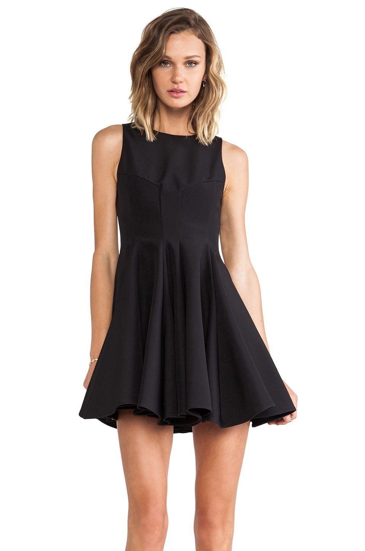 Muubaa Ceylon Leather Skater Dress  4b9946ff2