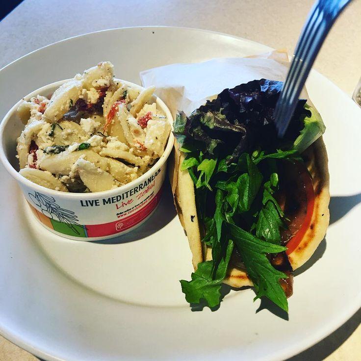 Zoes Kitchen Greek Chicken Pita 460 Calories Pasta