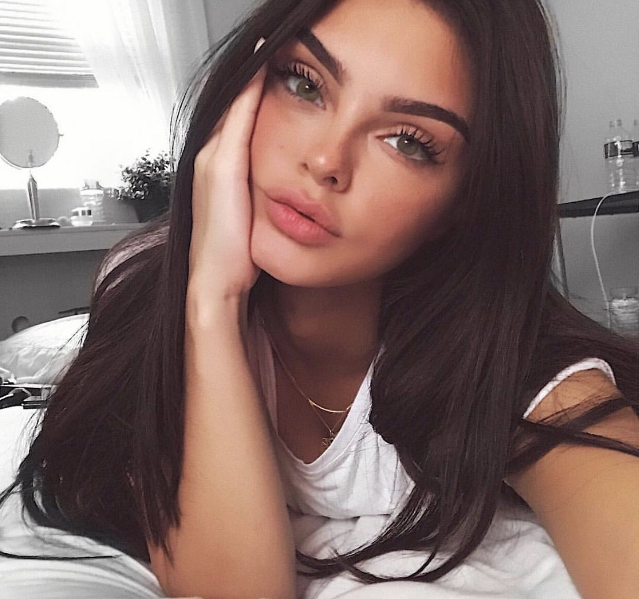 Pinterest Vintagemelanie Hair Beauty Makeup Looks Beauty Girl