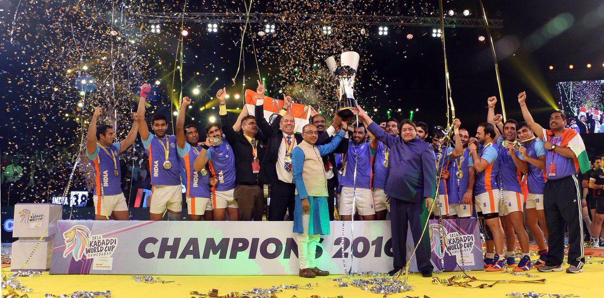 Congratulations Team India KabaddiWorldCup2016 Kabaddi
