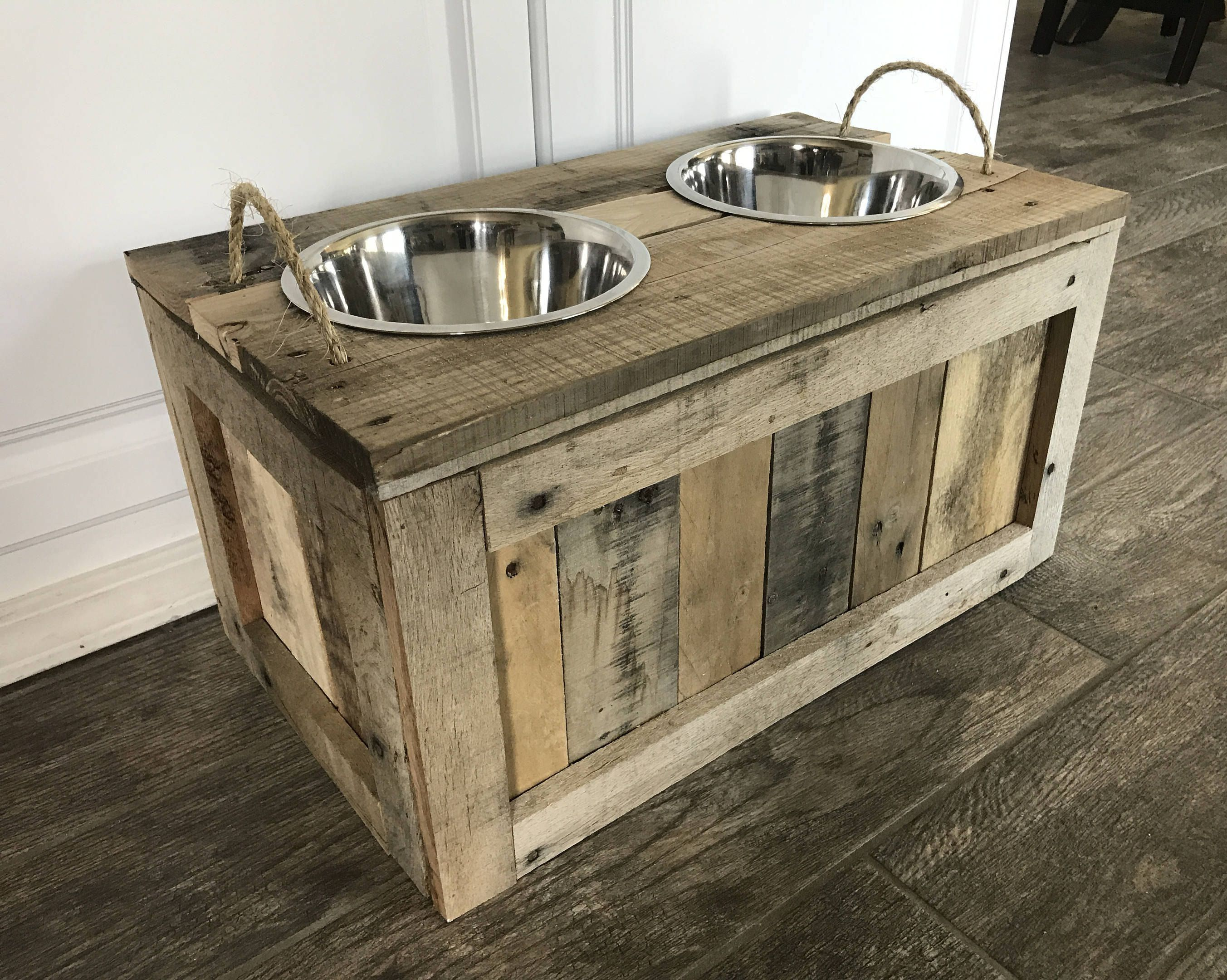 Raised Dog Bowls With Storage Dog Bowls With Storage Dog Food Stand With  Storage Dog Feeder