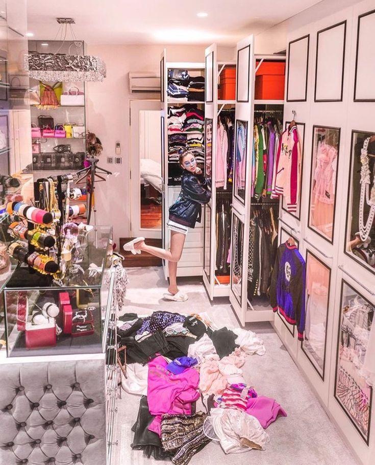 Pin by Chloé on Hannah Montana Luxury closet, Closet