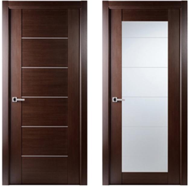 Maximum 201 Interior Door Wenge Finish Modern Home Luxury Doors
