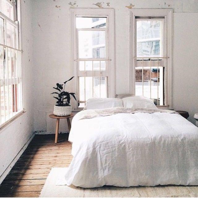 Photo of white bedding