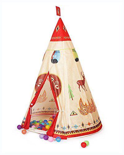 Aweoods Children Indian Story Play Tent Indoor/Outdoor Te... https://www.amazon.com/dp/B01EKTGHMG/ref=cm_sw_r_pi_dp_yGCExb5Z6M09X