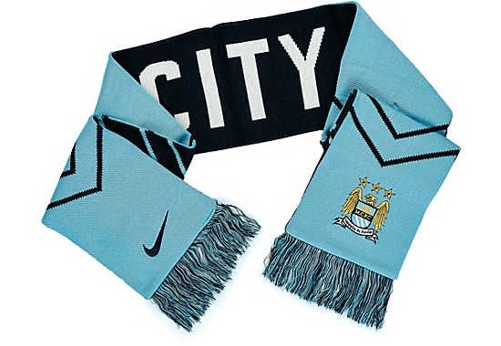 f69c816cdcb37 Nike Manchester City Supporter Scarf - Field Blue