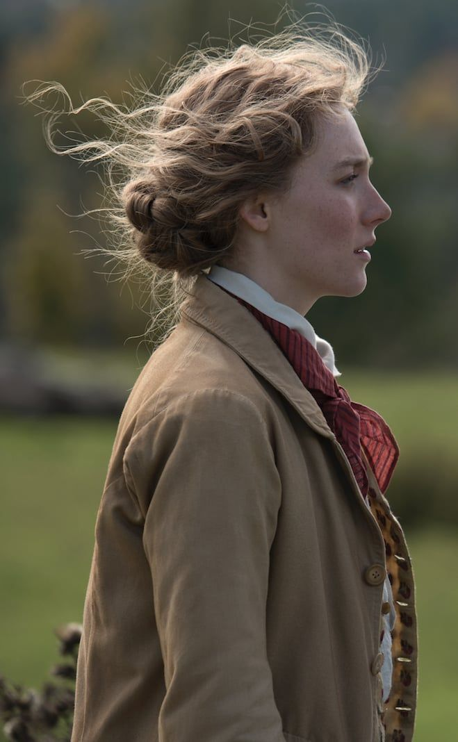 Photo of Saoirse Ronan and Timothée Chalamet Come of Age in the Little Women Trailer