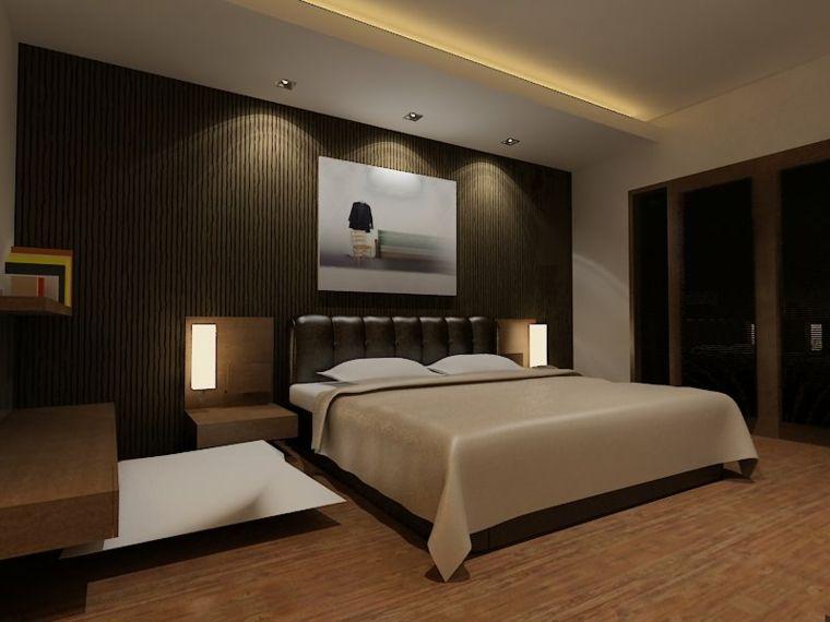 Recamaras Modernas Unos Disenos Llenos De Elegancia Diseno De Dormitorio Para Hombres Diseno Dormitorio Principal Remodelacion De Dormitorio